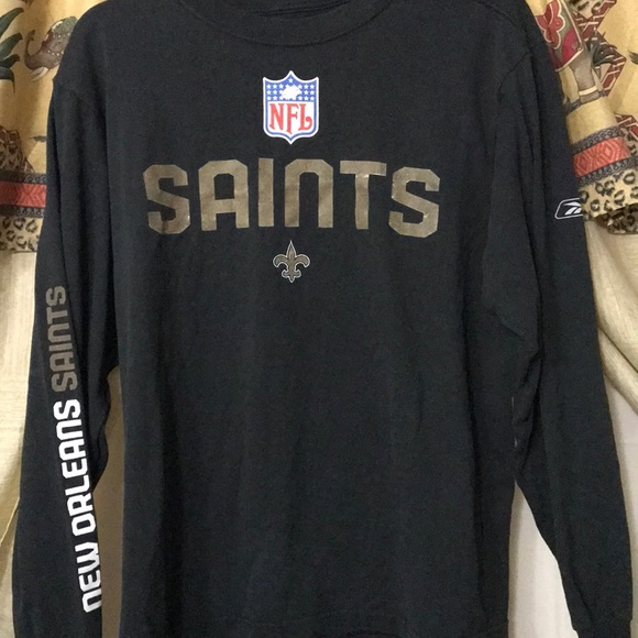 d2f0ee585 New Orleans Saints Long Sleeve Shirt size Small. M_5a6bd07f05f430a5a4be4728